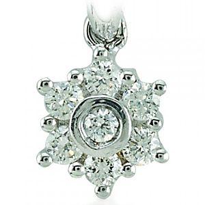 Divas Diamond    Pırlanta Taşlı Kolye
