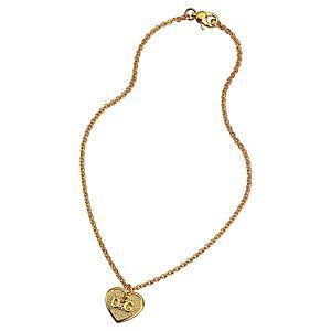 Dolce & Gabbana    D&G Yazılı Kalp Kolye
