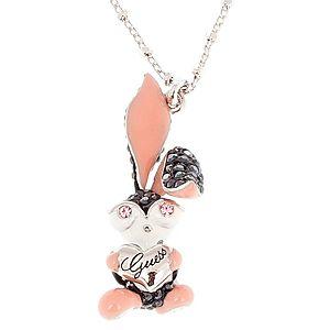 Guess    Taşlı Tavşan Figürlü Kolye