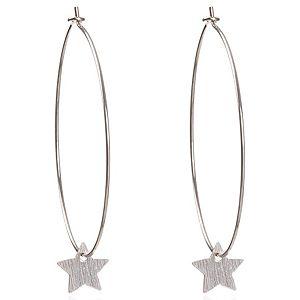 Loopie Love    Gümüş Renk Star Küpe