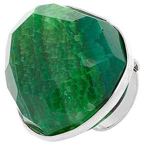 MiaRossa    Büyük Yeşil Taşlı Yüzük
