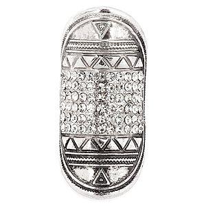 MiaRossa    Gümüş Rengi Sıra Taşlı Armor Yüzük