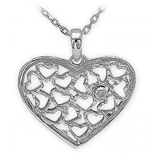 ARİŞ PIRLANTA    Gümüş Kalp Kolye