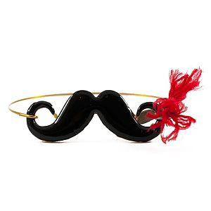 Atelier Petites Pierres    Sexy Moustache Bileklik