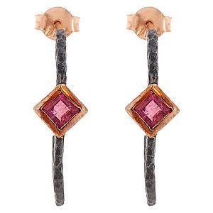 Elif Doğan Jewelry    Kunt Hilal Küpe