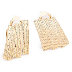 Lin Jewelry    Altın Kaplama Şık Küpe