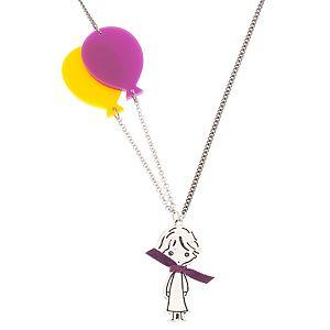 Lucky Beads    Sarı Uçan Balonlu Kolye