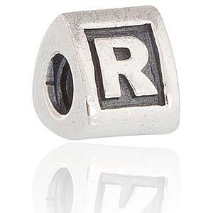 """Pandora    """" R """" Harfli Gümüş Charm"""