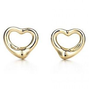 Tiffany & Co.     Elsa Peretti Open Heart Küpe