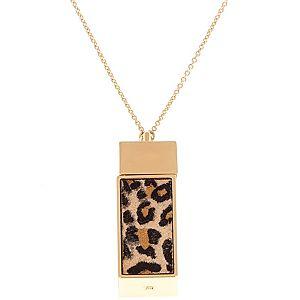 Belle Noel    Leopard Cube Kolye