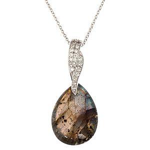 HRN Diamond    Labrodoriteli Kolye