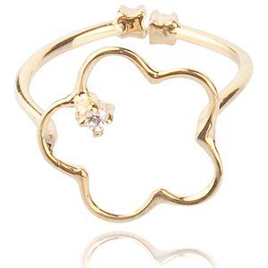Lin Jewelry    Küçük Yonca Yüzük