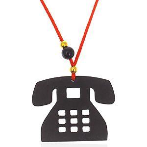 AG d'sign    Siyah Telefon Kolye