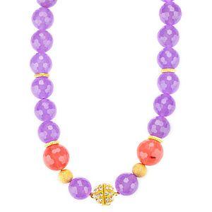 Crysellas    The Color of Purple Kolye