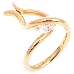 GeM By Mineral    Altın Kaplama Taşlı Lale Yüzük