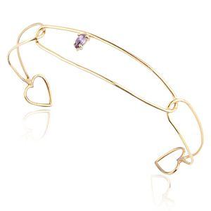 Lin Jewelry    Açık Kalpli Bilezik