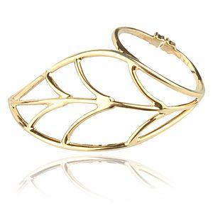 Lin Jewelry    Büyük Yaprak Yüzük