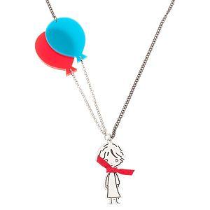 Lucky Beads    Kırmızı Uçan Balonlu Kolye