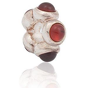 Pandora    Garnet Charm