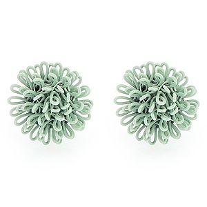 Pieces    Mint Yeşili Betty Küpe