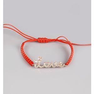 Shaya Collection    Love Is Freedom Kırmızı Bileklik
