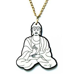 Didem'in İzi    Oturan Buddha Kolye