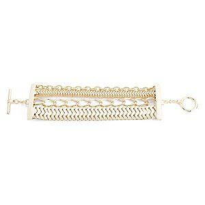 Lin Jewelry    Sıralı Zincirli Bileklik
