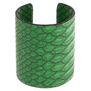 MiaRossa    Yeşil Deri Cuff