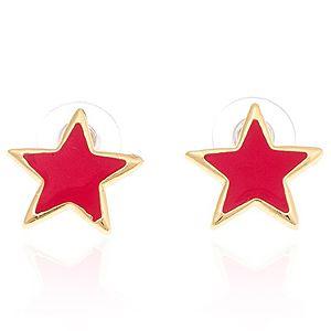 Wish Aksesuar    Pink Star Küpe