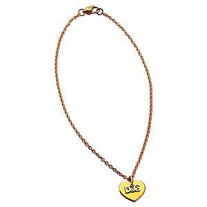 Dolce & Gabbana    Altın Kaplama D&G Yazılı Kalp Kolye