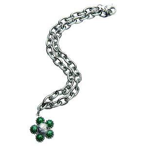 Dolce & Gabbana    D&G Yazılı Çiçek Kolye
