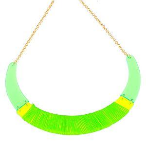 JoJo    Neon Yeşil Tasma Kolye