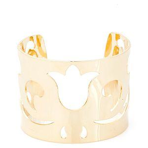 Lin Jewelry    Altın Kaplama Lale Bileklik