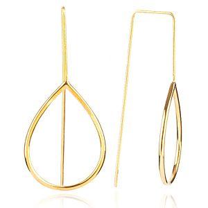Lin Jewelry    Damla Formlu Küpe
