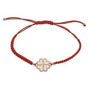 Shaya Collection    Love Is Freedom Yonca Kırmızı Bileklik