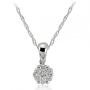 Divas Diamond    Pırlanta Beyaz Altın Kolye