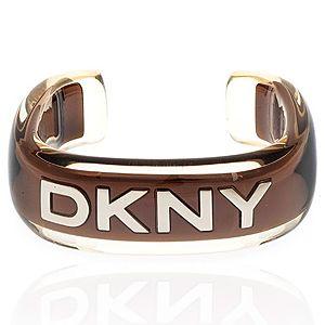 DKNY    Kahverengi Kalın Bilezik