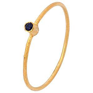 Elif Doğan Jewelry    Minik Altın Safir Yüzük