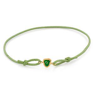 Elif Doğan Jewelry    Yeşil Nazarlı Bileklik