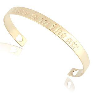 Lin Jewelry    I Love You Parlak Bilezik