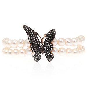 SHAINA    Pearl Butterfly Bileklik