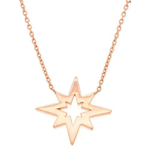Takika Diamond    Küçük Kutup Yıldızı Taşsız Kolye