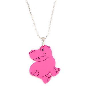 Bugga    Pembe Hippo Kolye