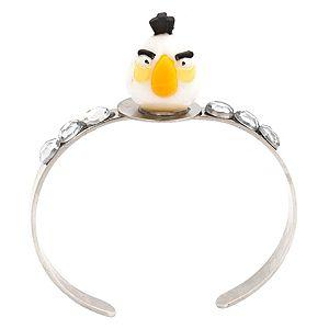 Derya's Winter Shop    Beyaz Angry Bird Taşlı Bileklik