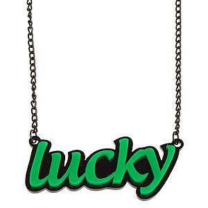 Vreskala    Siyah Yeşil Lucky Kolye