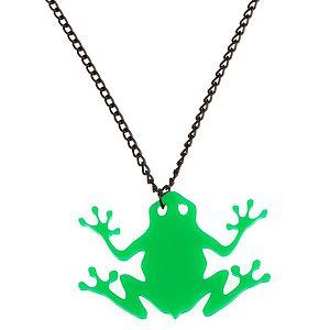 Vreskala    Yeşil Kurbağa Kolye