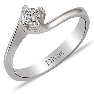 Divas Diamond    0,15 ct Pırlantalı Yüzük