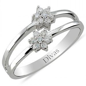Divas Diamond    Pırlanta Yüzük
