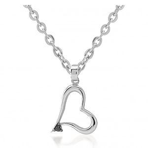 Divas Diamond    Pırlantalı Kalp Kolye