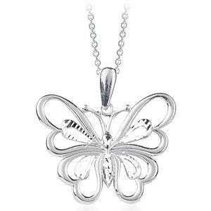 Myra Gold Gümüş Kelebek Kolye